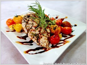 Roasted  Chicken  Breast  with  Balsamic