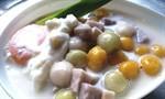 บัวลอยเผือกไข่หวาน